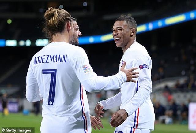 Griezmann đá hỏng phạt đền, Mbappe ghi bàn để Pháp hạ Thụy Điển - 1