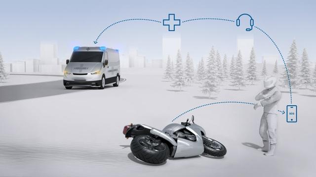 Ý tưởng mới về công nghệ hỗ trợ an toàn cho người đi xe máy - 2