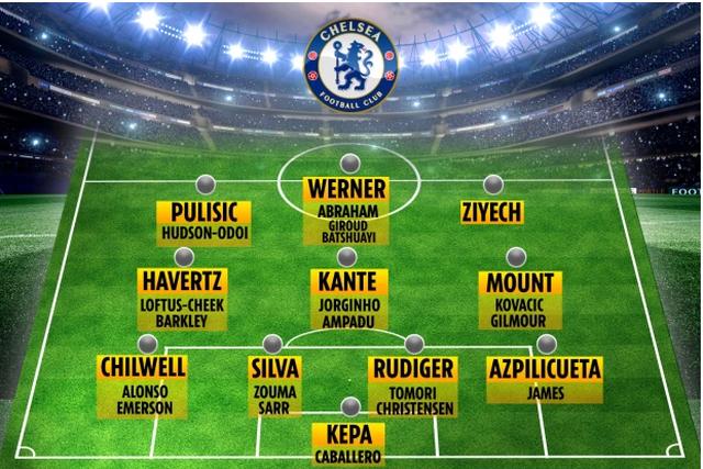 Đội hình đủ sức vô địch Premier League của Chelsea - 2