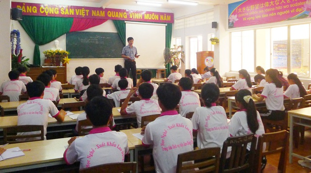 Học viên học nghề được bao ăn ở, đảm bảo ra trường có việc làm - 1