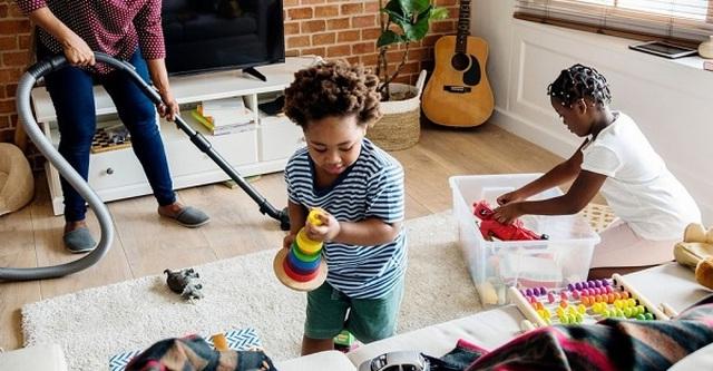 10 bí quyết hay dạy trẻ làm việc nhà bố mẹ nên biết - 1