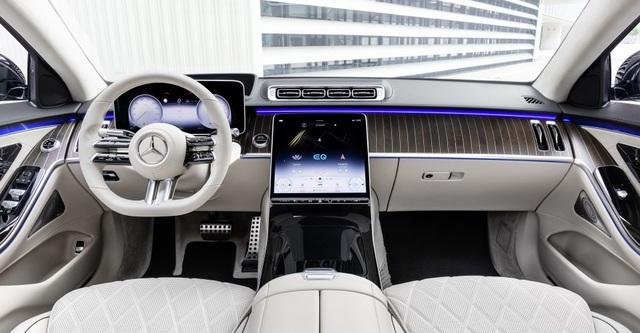 So sánh Mercedes-Benz S-Class 2021 và thế hệ cũ - 16