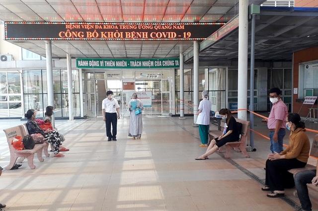 Thêm 32 bệnh nhân Covid-19 ở Quảng Nam, Đà Nẵng được xuất viện - 1