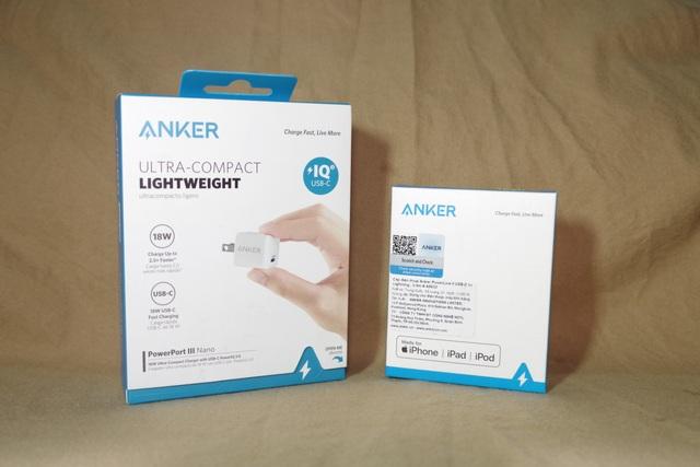 Combo sạc cáp cho người thích nhỏ gọn: Anker PowerPort III Nano và PowerLine II - 2