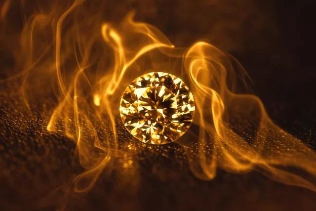 Có thể đốt cháy kim cương không? - 1