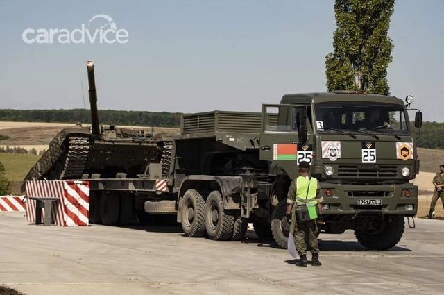 Xem xe thiết giáp Nga tranh tài tại Army Games 2020 - 2