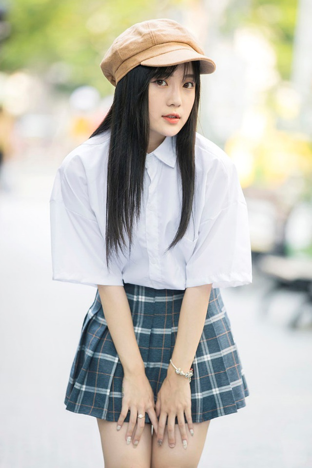 """""""Thiên thần đồng phục"""" Bắc Ninh xinh đẹp như nàng thơ - 5"""