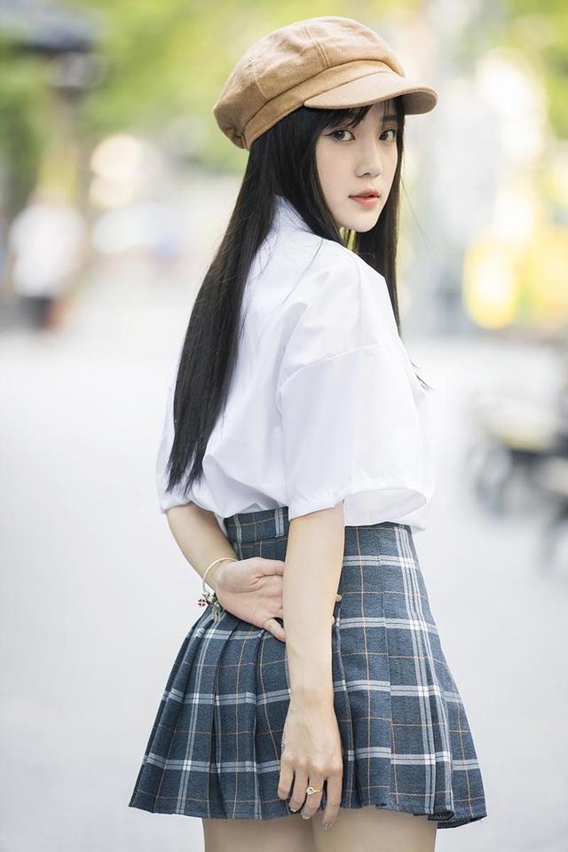 """""""Thiên thần đồng phục"""" Bắc Ninh xinh đẹp như nàng thơ - 7"""