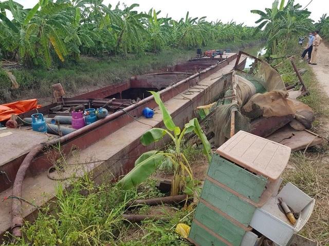 Nhóm đối tượng trộm tàu từ Thái Bình đưa đi tỉnh khác phá dỡ - 1