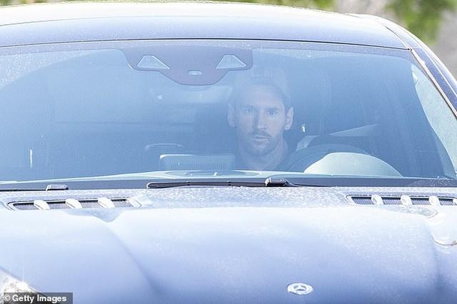 Messi tập buổi đầu tiên dưới thời HLV Ronald Koeman - 1