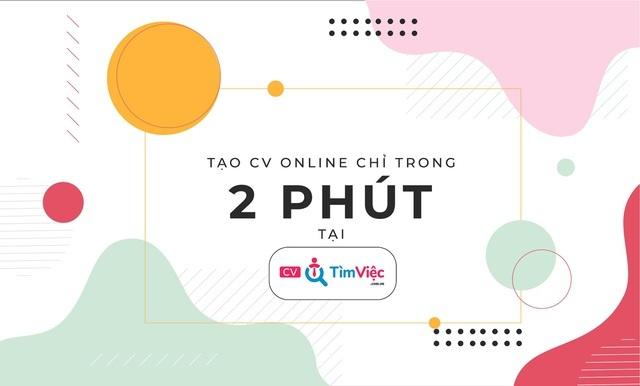 Tạo CV tiếng Anh online chuyên nghiệp với Cv.timviec.com.vn - 3