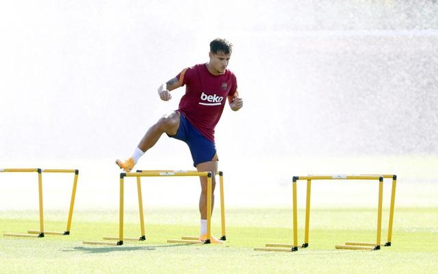 Messi tập buổi đầu tiên dưới thời HLV Ronald Koeman - 6