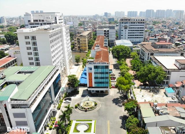 """Đoạn đường dài 1km """"cõng"""" đến 7 trường đại học, cao đẳng ở Hà Nội - 8"""