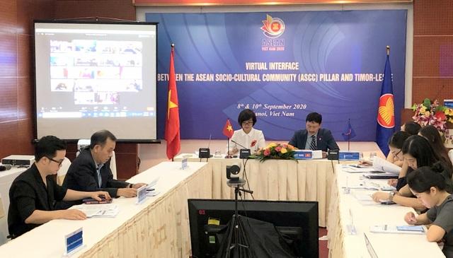 Hội nghị trực tuyến của Cộng đồng văn hóa - xã hội ASEAN với Đông Timor - 3