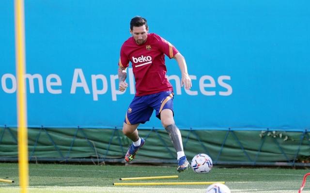 Messi tập buổi đầu tiên dưới thời HLV Ronald Koeman - 4