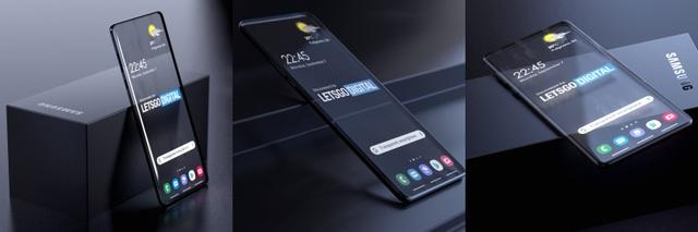 Samsung tham vọng phát triển smartphone trong suốt - 2