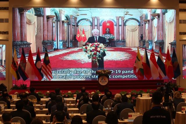 Chủ tịch Quốc hội Việt Nam khai mạc hội nghị lịch sử Liên nghị viện ASEAN - 6