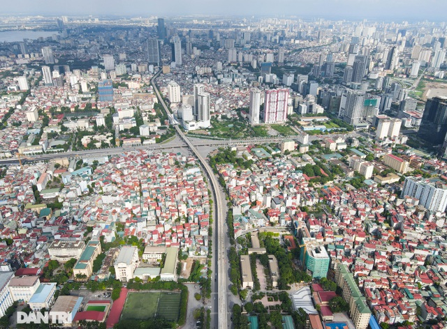 """Đoạn đường dài 1km """"cõng"""" đến 7 trường đại học, cao đẳng ở Hà Nội - 1"""