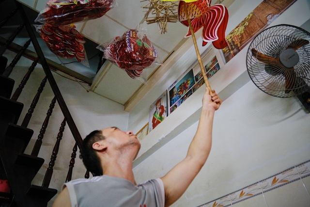 Làng nghề lồng đèn lớn nhất Sài Gòn đìu hiu vì dịch Covid-19 - 7