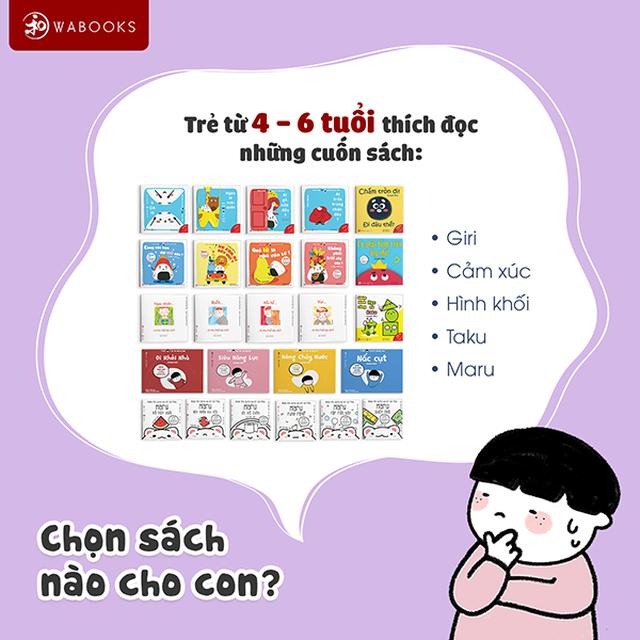 Ehon Wabooks – Nuôi dạy con thông minh và phát triển toàn diện (IQ, EQ) - 6