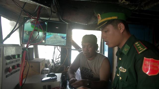 2 ngư dân bị phạt gần 200 triệu đồng vì tắt giám sát hành trình  - 1