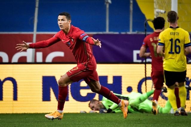 Nc247info tổng hợp: C.Ronaldo lập kỷ lục 100 bàn thắng cho đội tuyển quốc gia
