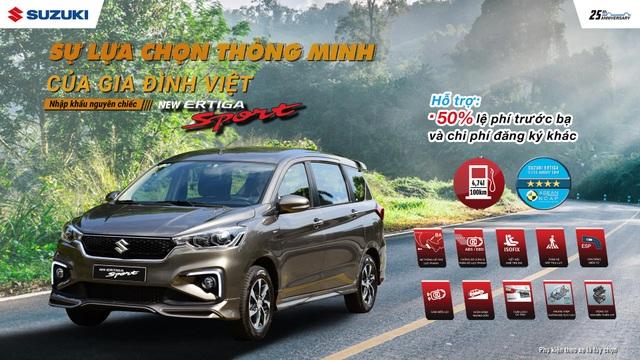 Suzuki Ertiga Sport, bài toán kinh tế thông minh cho trải nghiệm trọn vẹn - 4