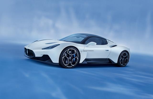 Siêu xe MC20 - Kỷ nguyên mới của Maserati - 1
