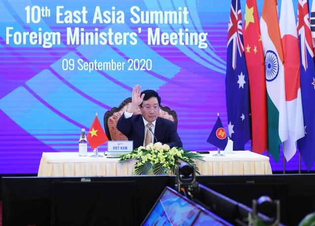 Các nước Đông Á kêu gọi không gia tăng căng thẳng ở Biển Đông - 1