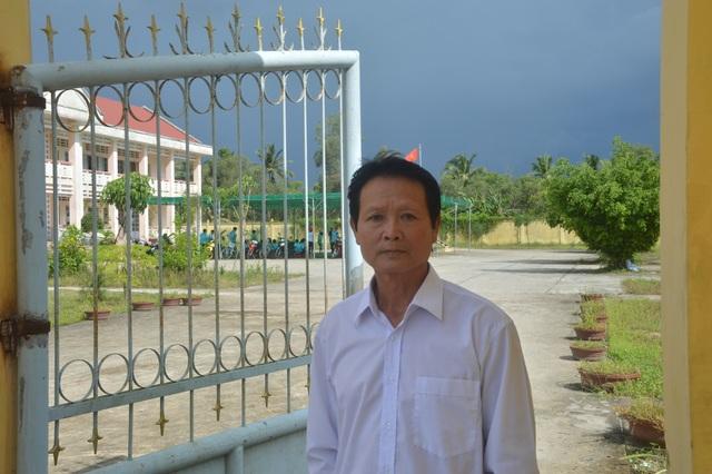Cựu cán bộ xã hiến 7.000 mét vuông đất, trị giá nhiều tỷ đồng để xây trường - 1