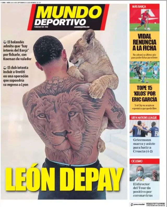 Nhật ký chuyển nhượng ngày 10/9: Depay gia nhập Barcelona? - 4