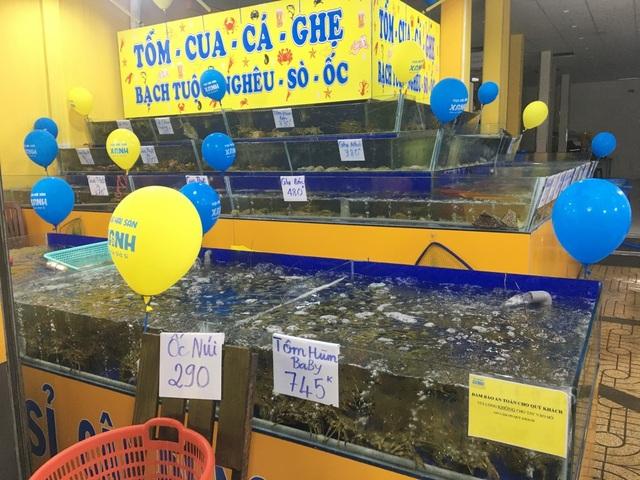 """TPHCM: Chuỗi hải sản tươi sống """"mọc như nấm sau mưa"""", dù lỗ cũng cố cầm cự - 5"""