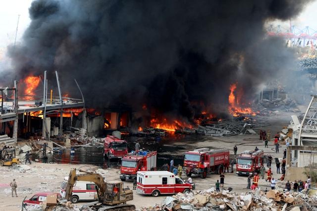 Cảng Beirut, Li Băng bốc cháy ngùn ngụt - 2