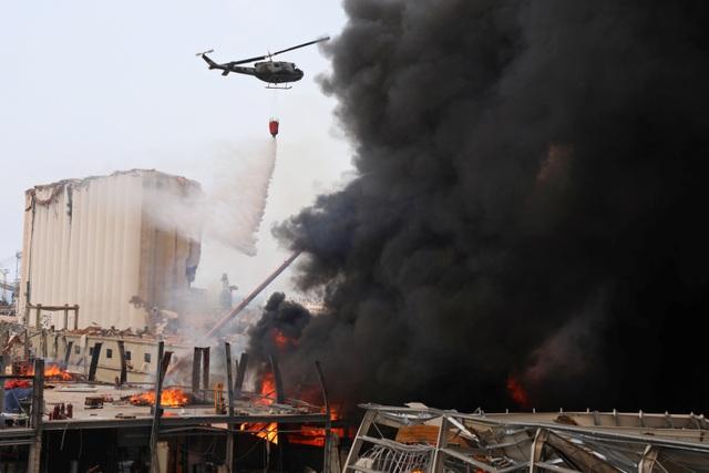 Cảng Beirut, Li Băng bốc cháy ngùn ngụt - 5