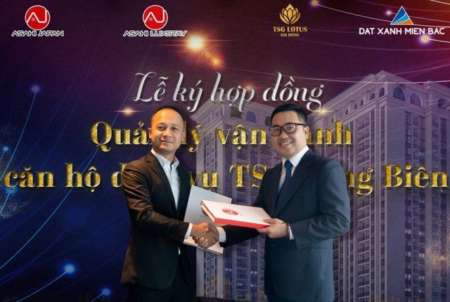 Asahi Luxstay quản lý cho thuê 50 căn hộ dịch vụ tại TSG Lotus Long Biên - 1