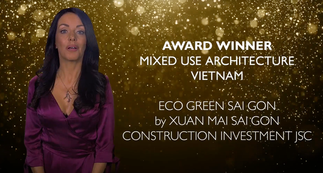 Eco Green Sài Gòn lập hat-trick tại Asia Pacific Property Awards - 2