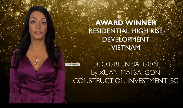 Eco Green Sài Gòn lập hat-trick tại Asia Pacific Property Awards - 3