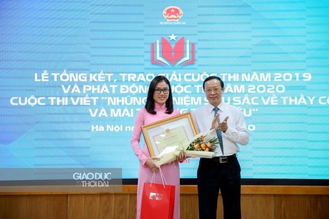 Cô giáo vùng núi Lào Cai đoạt giải Nhất cuộc thi viết do Bộ GDĐT tổ chức - 1
