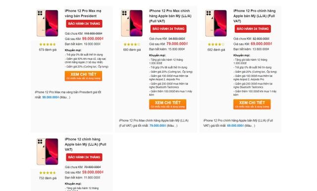Dân buôn Việt nhận đặt trước iPhone 12, đoán giá hơn 100 triệu đồng - 1