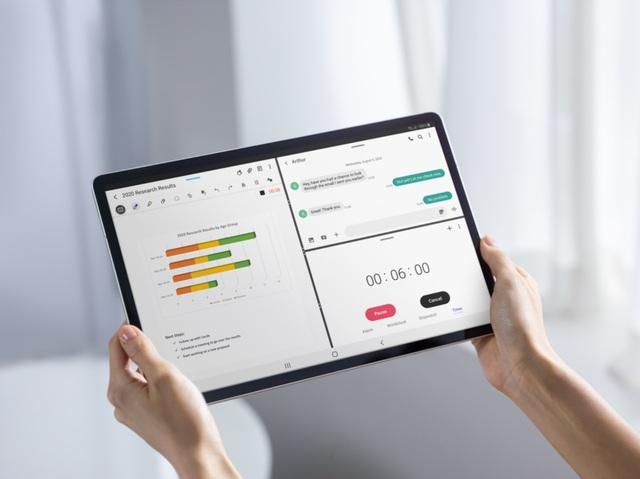Máy tính bảng Android Galaxy Tab S7+: mạnh mẽ, tối ưu cho công việc - 5