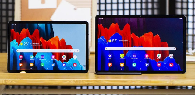 Máy tính bảng Android Galaxy Tab S7+: mạnh mẽ, tối ưu cho công việc - 1