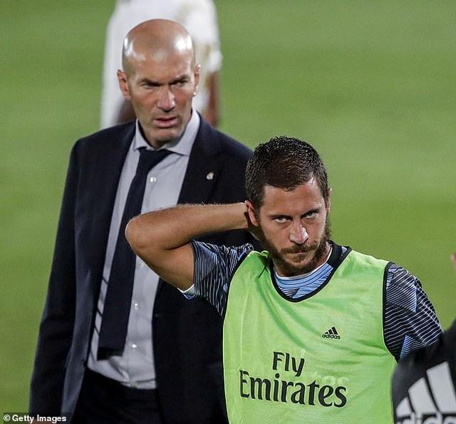 HLV Zinedine Zidane tức giận khi Eden Hazard lại phát phì - 1