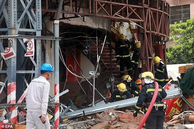 Vụ nổ kinh hoàng phá nát khách sạn ở Trung Quốc - 2