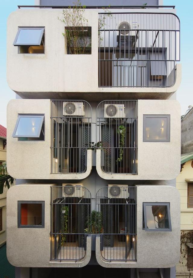 Nhà 7 tầng ở Hà Nội đẹp như tranh, mỗi phòng một phong cách độc đáo - 2