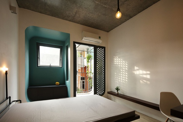 Nhà 7 tầng ở Hà Nội đẹp như tranh, mỗi phòng một phong cách độc đáo - 6