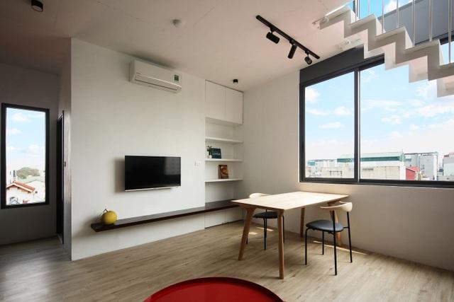 Nhà 7 tầng ở Hà Nội đẹp như tranh, mỗi phòng một phong cách độc đáo - 7