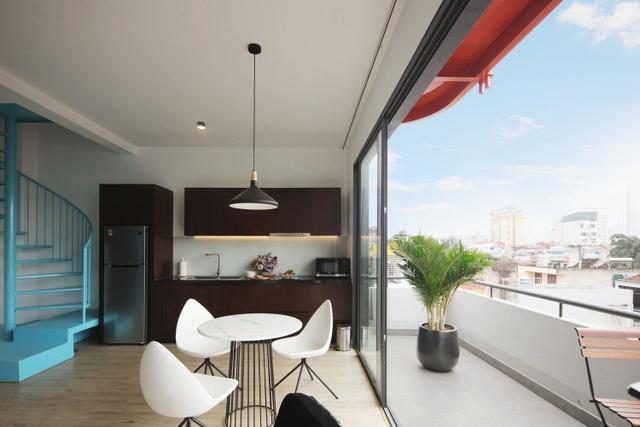 Nhà 7 tầng ở Hà Nội đẹp như tranh, mỗi phòng một phong cách độc đáo - 9