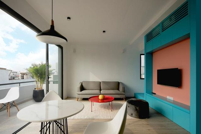 Nhà 7 tầng ở Hà Nội đẹp như tranh, mỗi phòng một phong cách độc đáo - 11