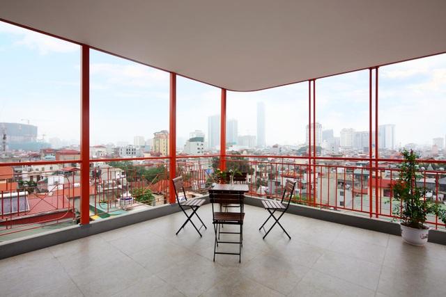 Nhà 7 tầng ở Hà Nội đẹp như tranh, mỗi phòng một phong cách độc đáo - 13