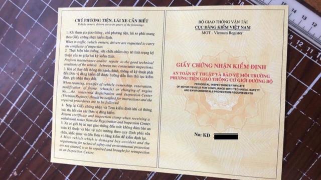 Cục Đăng kiểm Việt Nam nói về vụ xe mẹ bồng con bị dân buôn lòe giấy tờ - 1